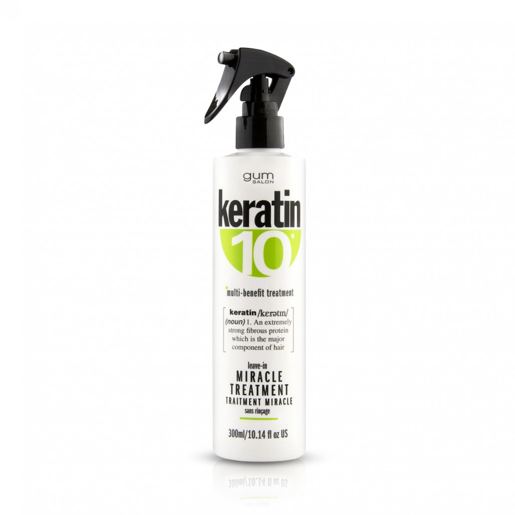 Keratin 10 Leave in Miracle Treatment